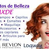 Productos de belleza AXDE